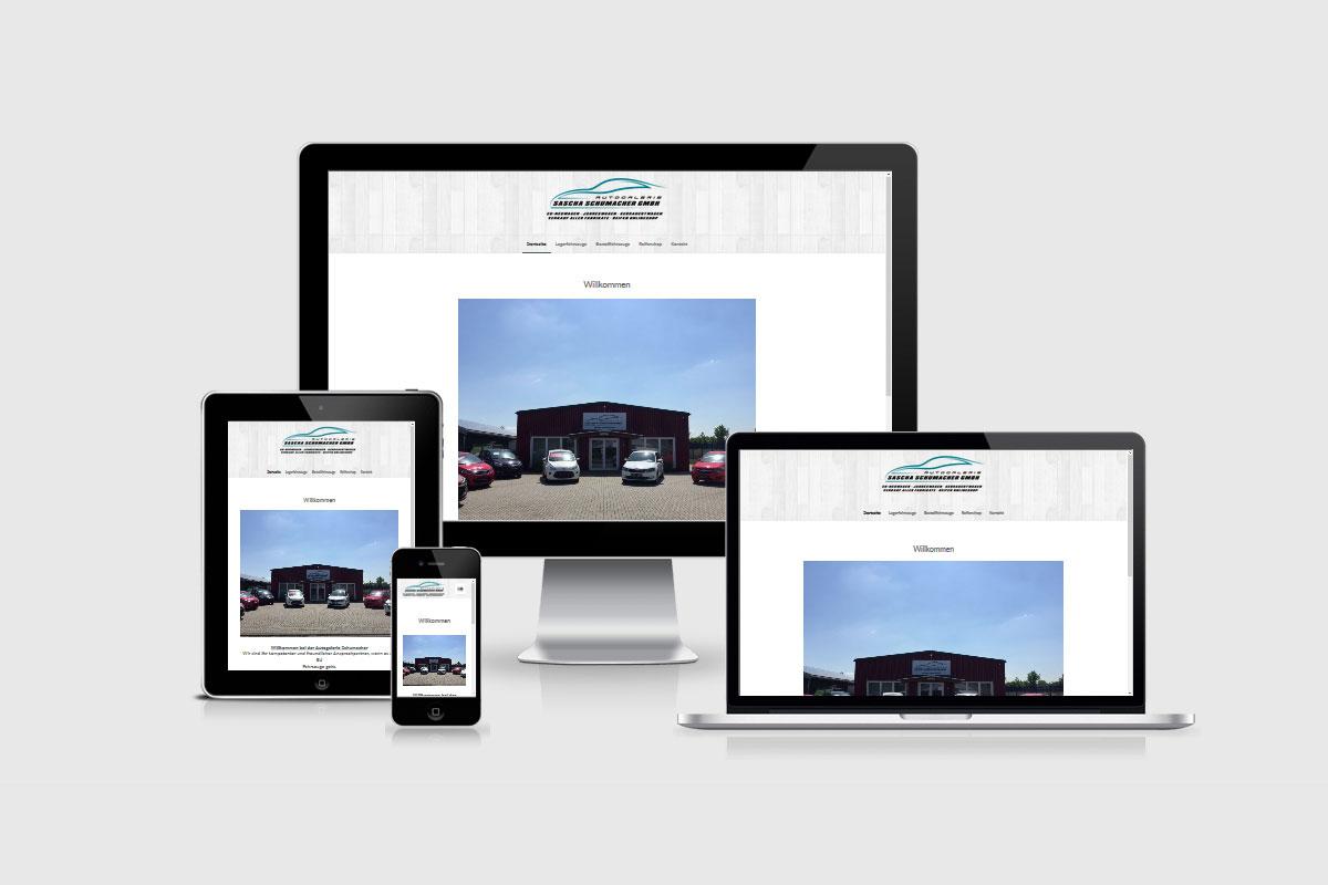 Senderek EDV Service - Referenzen - Webdesign - ag-schumacher.de