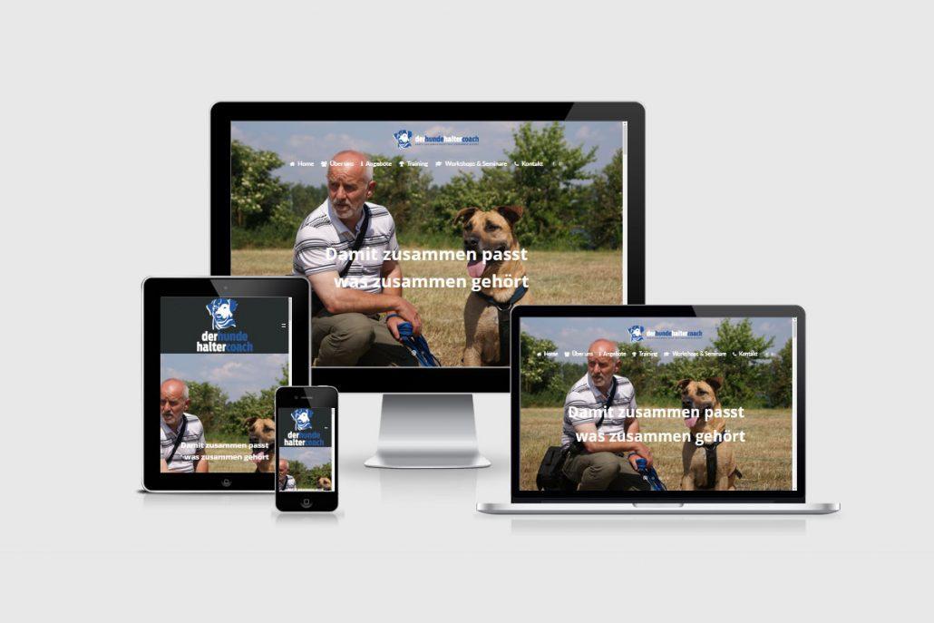 Senderek EDV Service - Referenzen - Webdesign - derhundehaltercoach.de