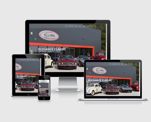 Senderek EDV Service - Referenzen - Webdesign - elegance-classic