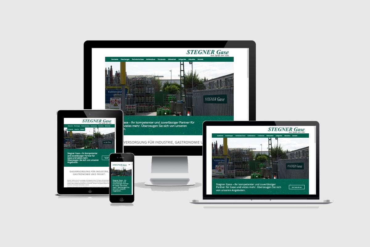 Senderek EDV Service - Referenzen - Webdesign - stegner-gase.de