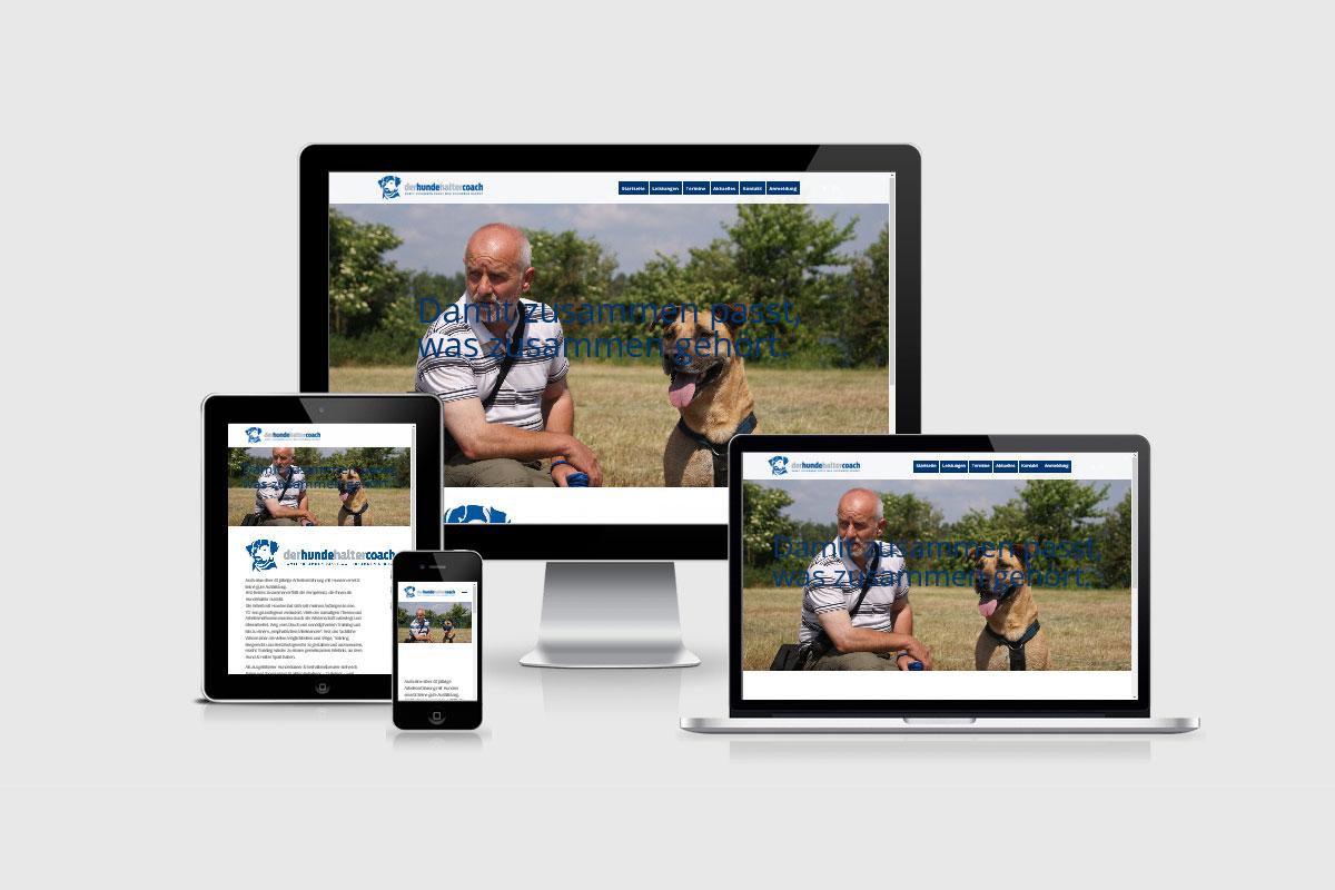 Senderek EDV Service - Referenzen - Webdesign - derhundehaltercoach