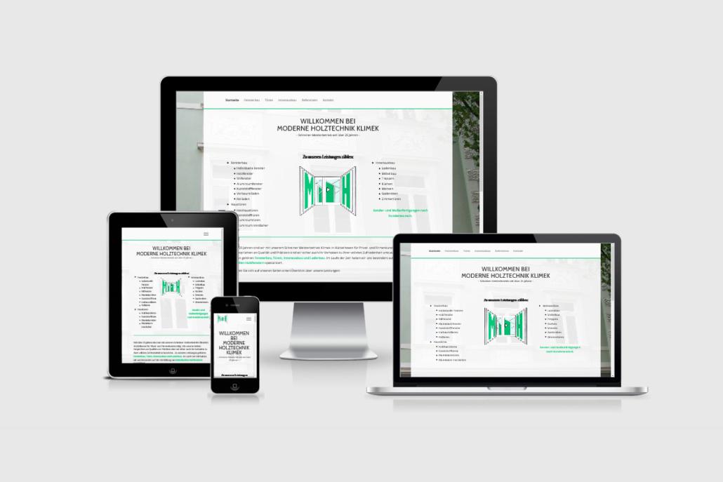Senderek EDV Service - Referenzen - Webdesign - klimek-holztechnik.de